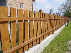 Deszka kerítés